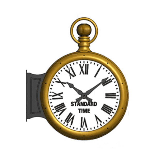 Pocketwatch Bracket Clock