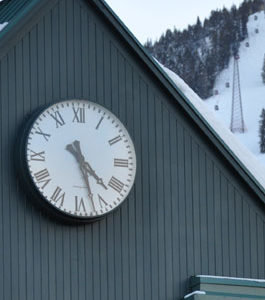 Tower Clock Style 6648 Surface Backlit Aspen CO