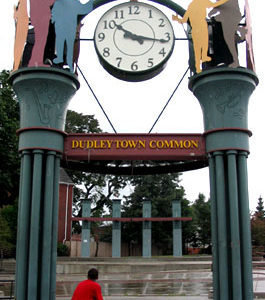 Tower Clock Style 6748 Double Dial Backlit Roxbury MA