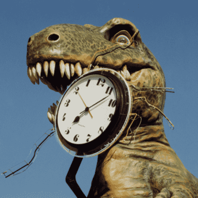 Tower Clock Dinosaur Custom Clock Ripley's Believe it or Not