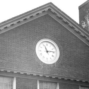 Tower Clock Historical Style 4600 Installation Harvard University