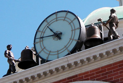 Anitmated Tower Clock with figures