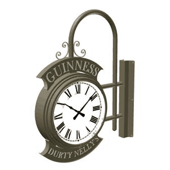 Bracket Clock Two Dial Pub Bracket
