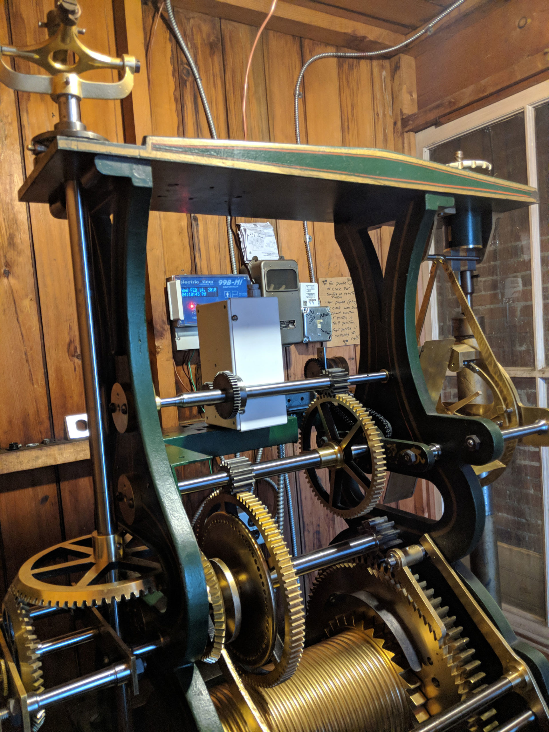 Bodine tower clock motor replacement
