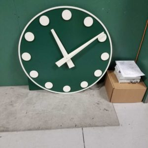 Reproduction Wrigley Field Clock