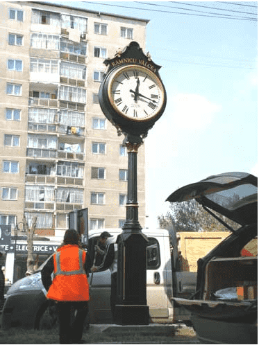 Two Dial Large Howard Street Clock Bucharest