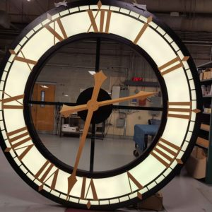 Exterior Window Clock