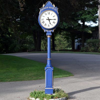 Golf Club Clock