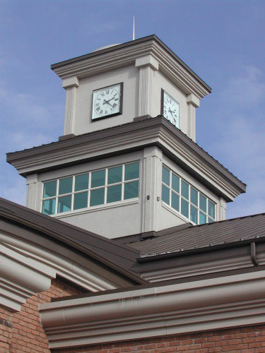 Tower Clock Style 3648 Square Surface Backlit Macomb MI