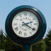 Marin Country Club Fancy Clock