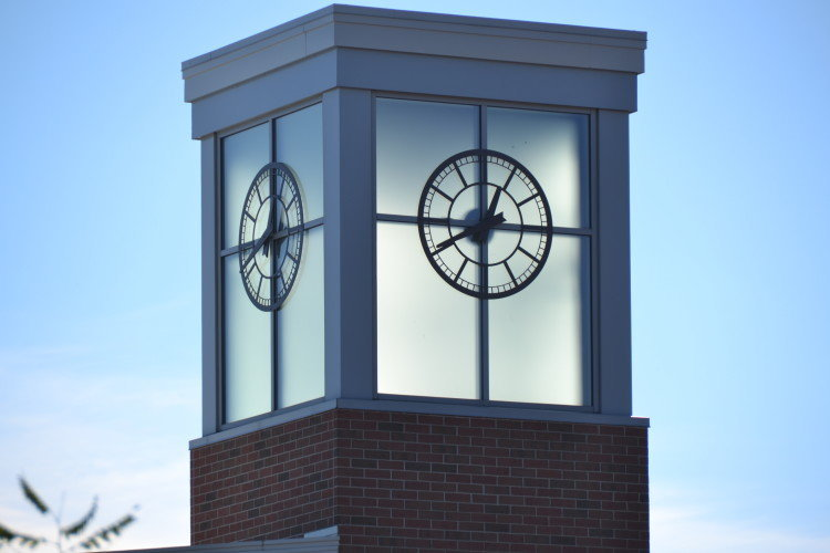 Silhouette Tower Clock Style 1000 Portland ME