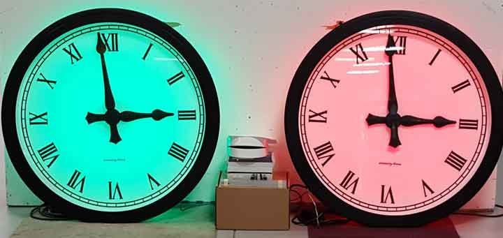 RGB Tower Clock