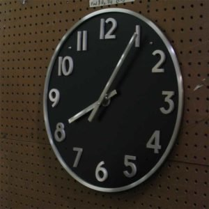 Background Mounted Executive Clocks