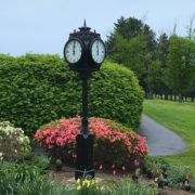 Golf-Course-Post-Clock