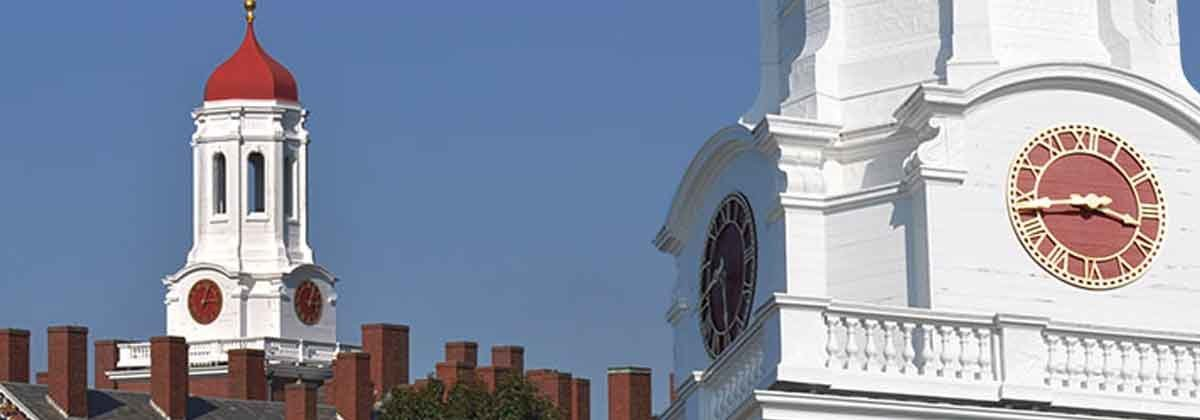 Harvard Dunster Hall Tower Clocks