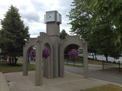 Tower Clock Style 3630 Square Surface Backlit Quebec