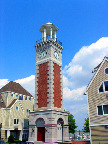 Tower Clock Style 2466 Backlit Flush Quincy MA