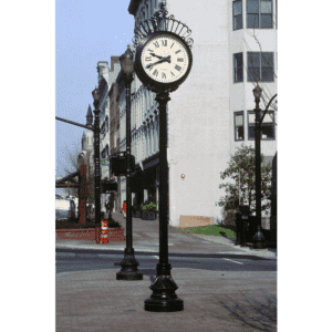 Kensington Two Dial Street Clock Louisville KY