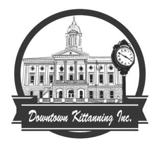 Downtown Organization Post Clock Logo