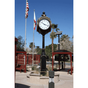 Large Four Dial Washington Street Clock - Brawley, CA 4MST CLOCK