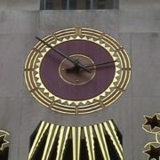 Rockefeller Center Tower Clock