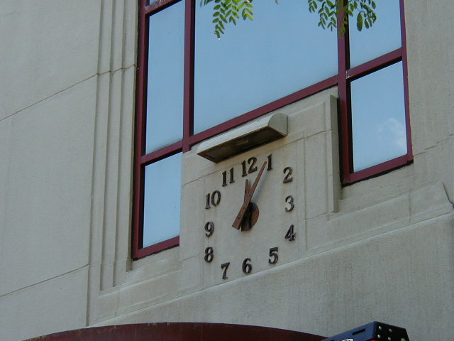 Silhouette Tower Clock Style 1000 Square