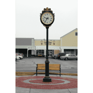 The Village Shoppes Street Clock - Face AI, Hands WS