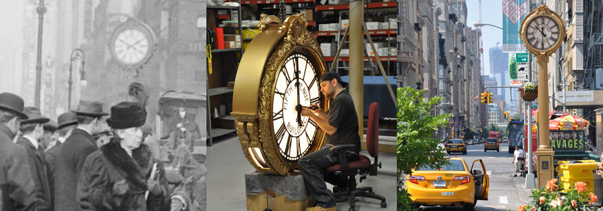 200 Fifth Avenue Street Clock Restoration
