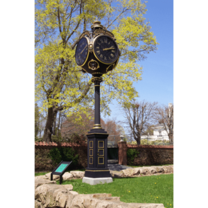 Four Dial Seth Thomas Post Clock Replica - National Museum of American Illustration