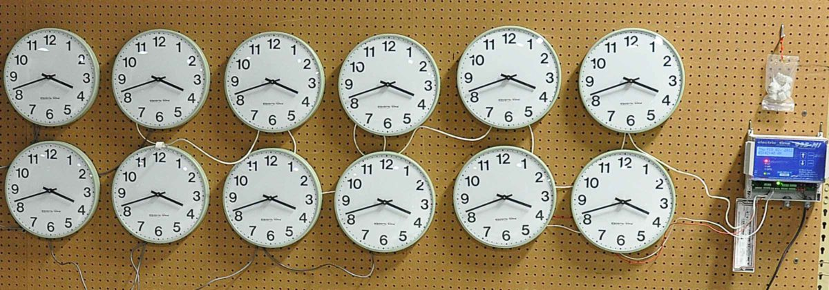 Small Indoor Clock System