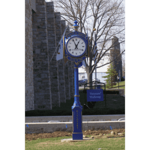 Small Four Dial Washington Street Clock - Mount Saint Mary's University