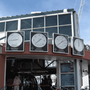 Tower Clocks, Barometer Wind and Temperature Indicators Aspen CO