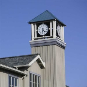 Tower Clock Style 6648 Surface Backlit Tiburon CA