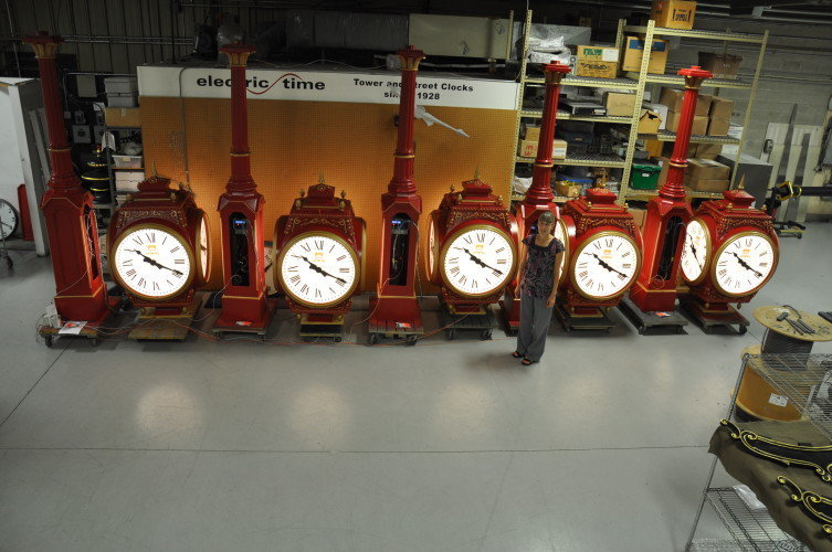 Large Four Dial Howard Street Clocks China