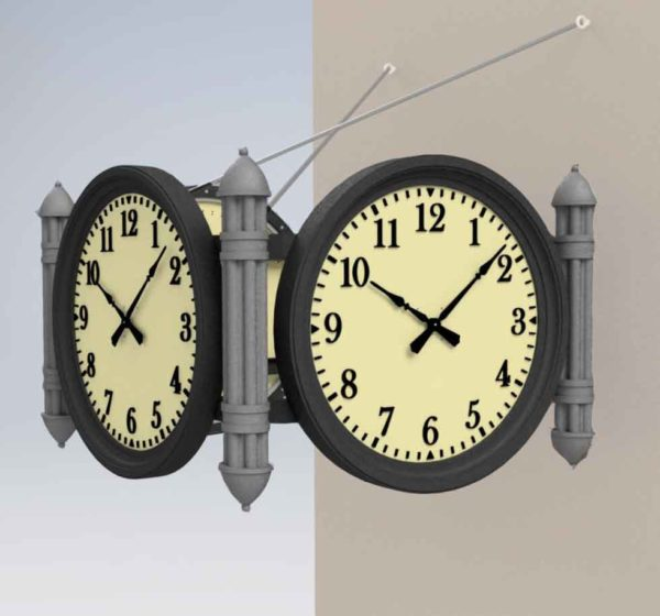 Waterloo Station Clock Rendering
