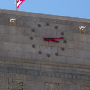 Houston City Hall Tower Clock after re-installation