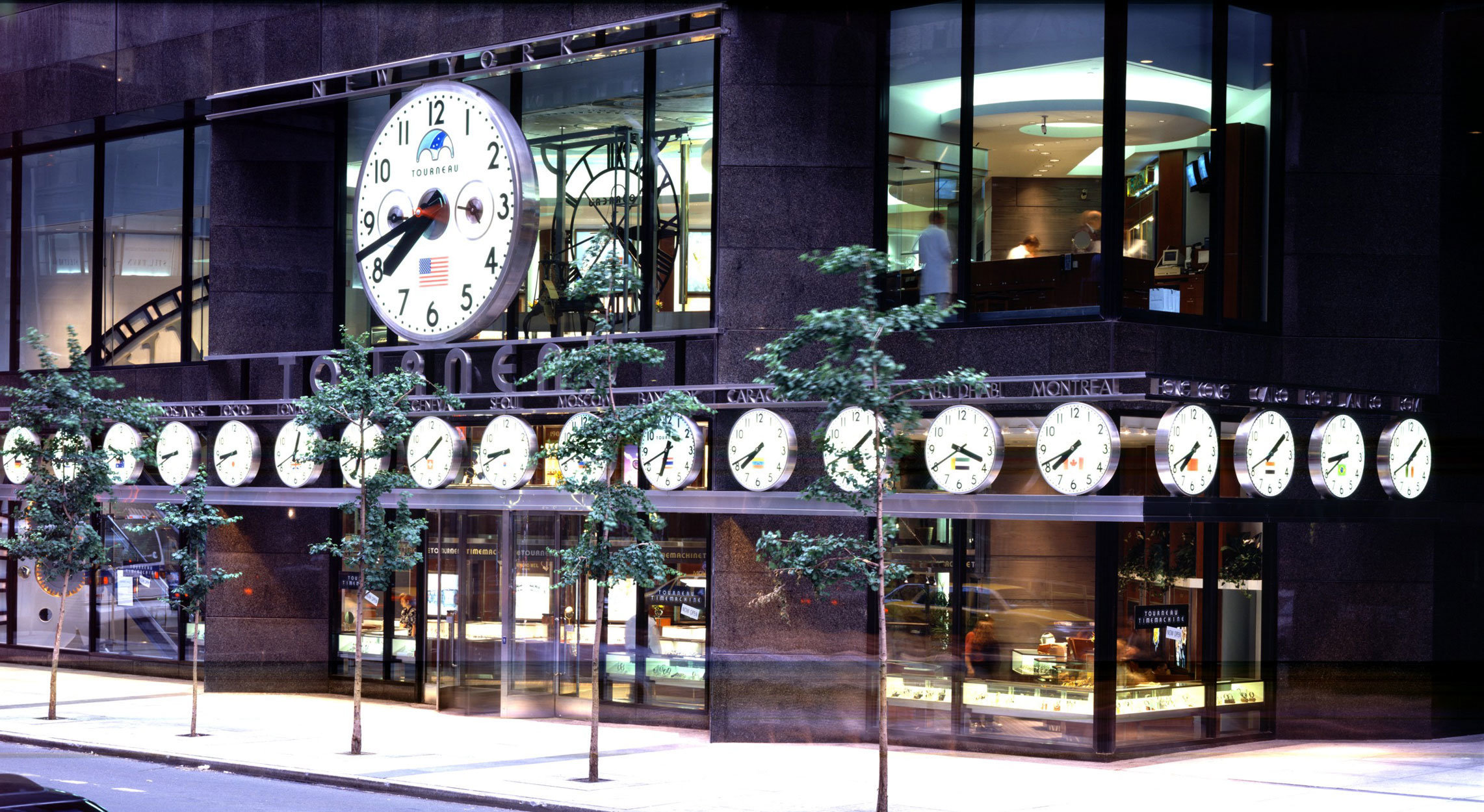 About Electric Time Company Building A Synchronous Clock Tourneau 57th And Madison New York City Multiple Zone Clocks
