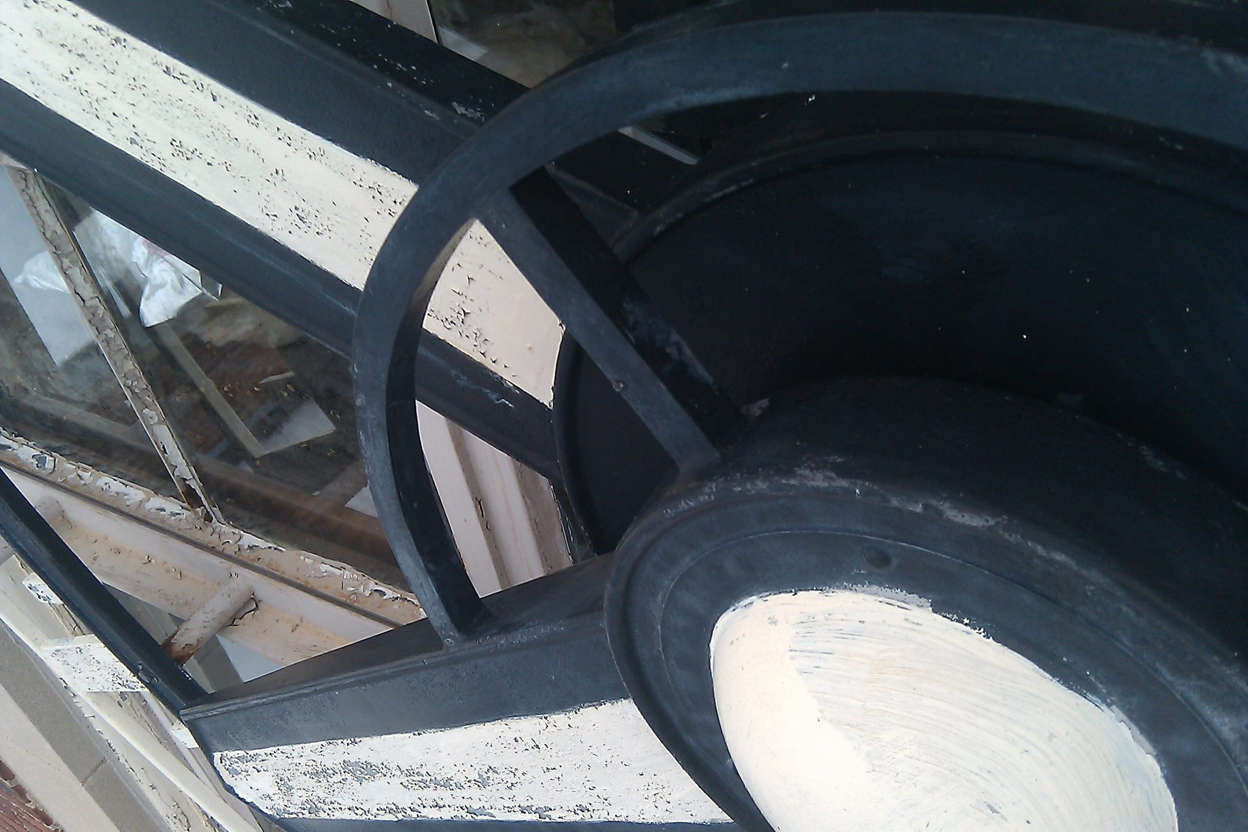 Close-up of Tower Clock before Restoration